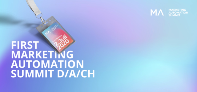 "Kongress  ""Marketing Automation Summit DACH 2020"""